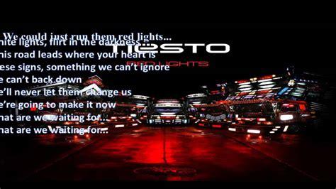 Lights Tiesto Lyrics by Tiesto Lights Lyrics