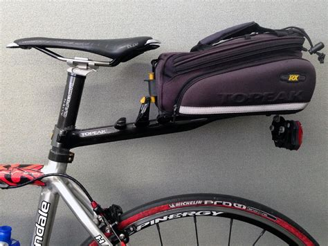 Seatpost Bike Rack by Anyone Use A Cl On Rear Rack With A Carbon Seatpost