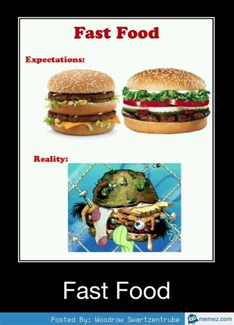 Fast Food Meme - fast food expectation memes com