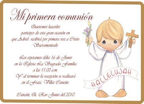 invitacion de primera comunion dibujo invitaciones de comuni 243 n modernas para ver desde el