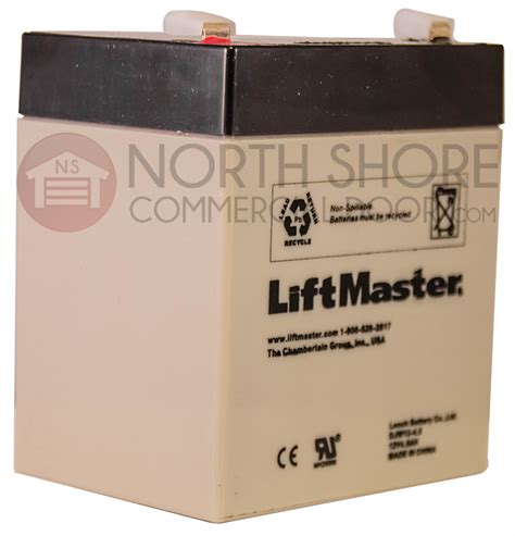 Liftmaster Garage Door Opener Battery Liftmaster Garage Door Opener Model 3850 485lm Integrated Bbu Replacement Battery