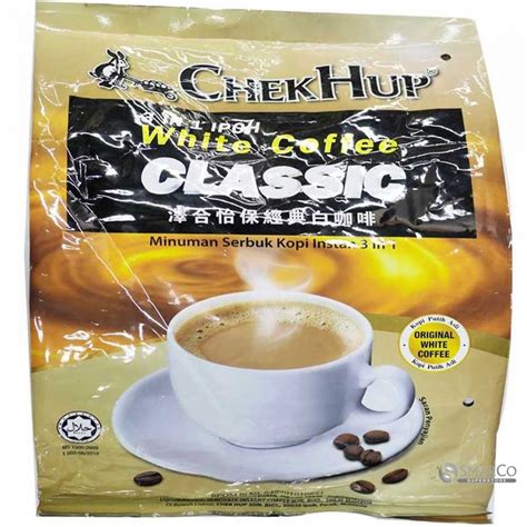 Chek Hup Ipoh White Coffee 2 In 1 detil produk chek hup 3 in 1 ipoh white coffee original 2 sachet 15x40 gr 1014090020103