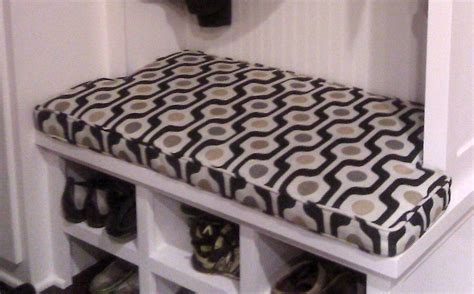 mudroom bench cushion mudroom bench cushionnotched sidescustom 41 x