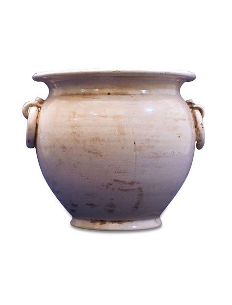 vaso di ceramica vaso artigianale in ceramica con anelli vasi e portavasi