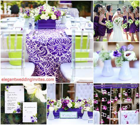 top 5 color combination ideas for purple weddings elegantweddinginvites