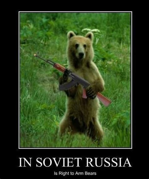 Fun Meme - in soviet russia biggerstaff family photo 23697934