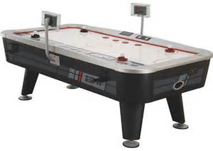 espn 90 quot air hockey table with mp3 dock be sportier