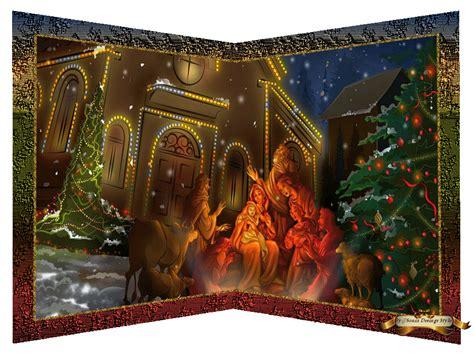 imagenes de navidad uñas dibujando en el viento