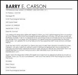 Letter Of Resignation Regret by Resignation Letter With Regret Resignation Letters Livecareer