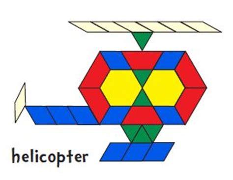 pattern block templates for kindergarten helicopter pattern block printable preschool
