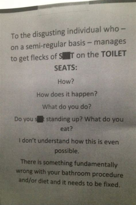 work bathroom rules work etiquette quotes quotesgram