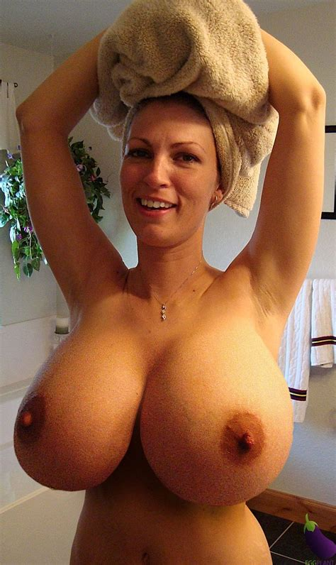 Busty hairy mature woman