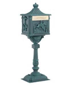 Amco Victorian Pedestal Mailbox Amco Victorian Pedestal Mailbox Mailboxes At Hayneedle