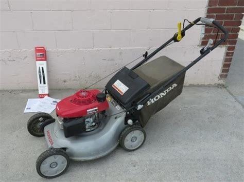 honda lawn mower variable speed quadra cut bighorn auction