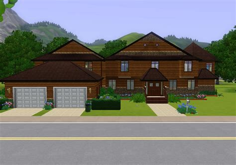 modern two story 4 bedroom mod the sims modern two story 4 bedroom spacious home