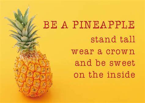 ZintenZ postcard Be a pineapple   Things that make you