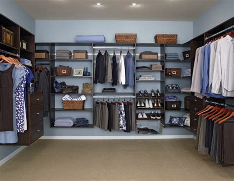 Easy Track Closet System by Closet Organizers Do It Yourself Custom Closet