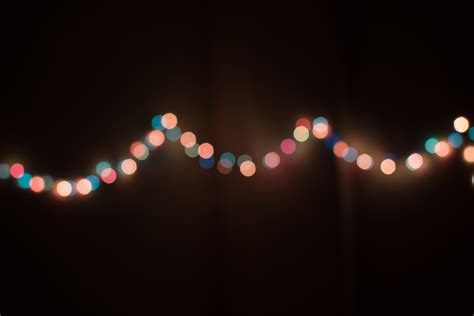 string of lights bokeh photography of string lights 183 free stock photo