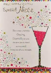 Birthday Card For Niece Greeting Niece Birthday Card Shower Wedding Pinterest
