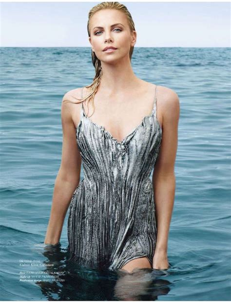 Charlize Theron Vogue by Charlize Theron 01 Amazing Grace Charlize