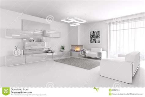 simple white living room wall design download 3d house white living room interior 3d stock illustration