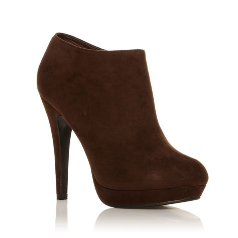 Faux Suede Shoe Boots new high heel fashion ankle shoe boots faux suede