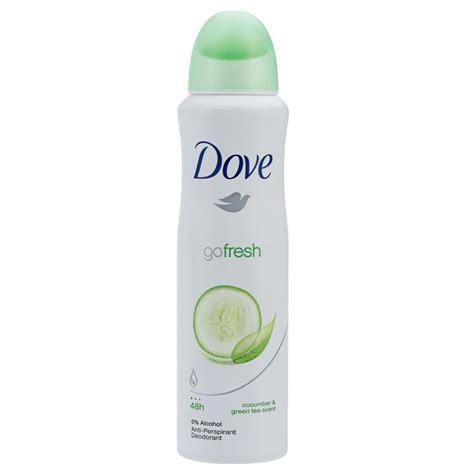 deodorant dove dove deodorant aerosol go fresh cucumber 150ml epharmacy