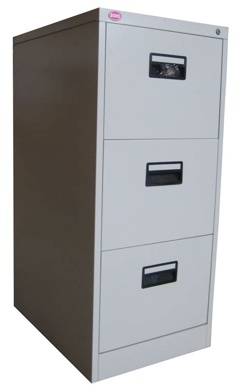 soho vertical filing cabinet 3 drawer w plastic