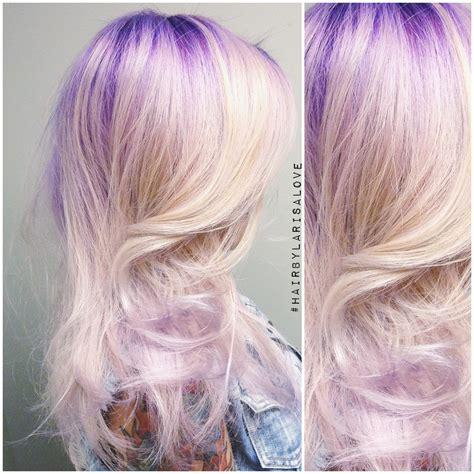 formula for purple hair formula purple to lavender color melt modern salon