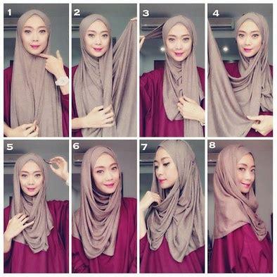 tutorial jilbab pashmina rawis kusut aneka tutorial kerudung pashmina kusut gaya terbaru