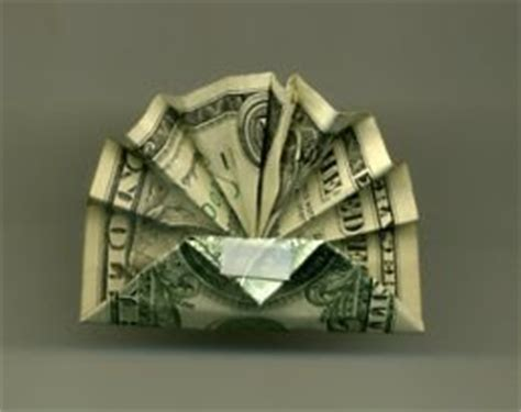 Easy Origami Turkey - origami n stuff 4 dollar bill thanksgiving turkey
