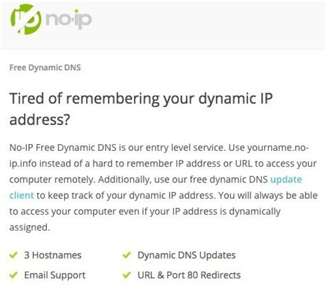 no ip how to setup free dynamic dns for remote access to your pc
