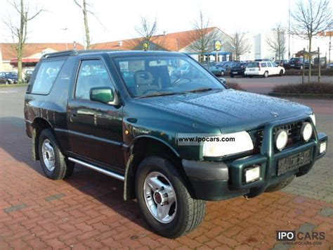 1998 opel frontera 2 0 sport fixed price 2999 car