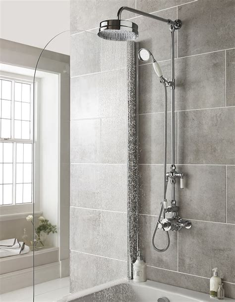 A Shower by How To Install A Thermostatic Mixer Shower Big Bathroom Shop