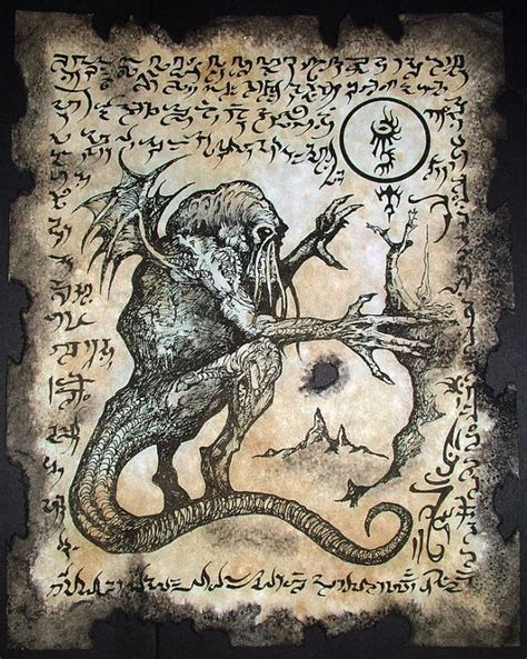 cthulhu kult rituale necronomicon fragmente okkulten dunkel