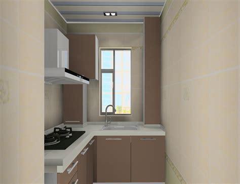 Simple small kitchen interior design