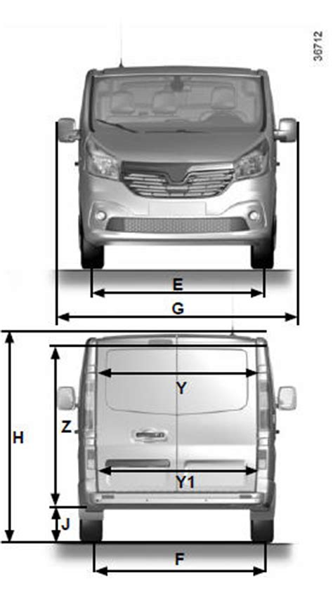 renault trafic dimensions renault trafic dimensions caract 233 ristiques techniques
