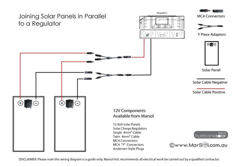 wiring diagram for solar panels in parallel efcaviation