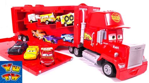 Mainan Truk Cars Truck disney pixar cars 3 toys big mack truck hauler car