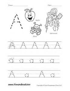 writing uppercase and lowercase letters worksheets
