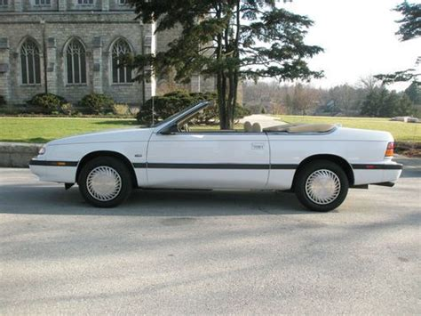 automobile air conditioning repair 1993 chrysler lebaron interior lighting purchase used 1993 chrysler le baron convertible 29 000 miles clean history excellent in