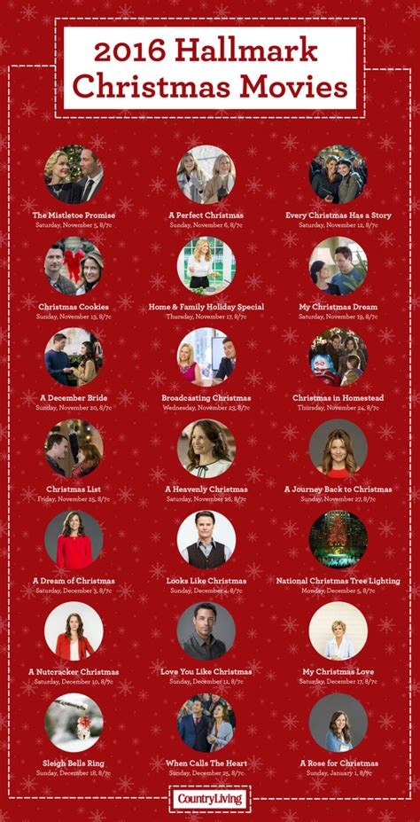 printable schedule of hallmark christmas movies the hallmark christmas movie schedule is here