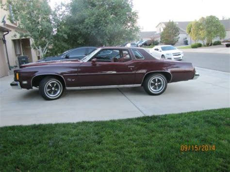 pontiac grand prix 1975 purchase used 1975 pontiac grand prix lj 400 v 8 turbo