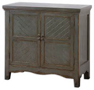 accent tables and chests uttermost matayas gray console cabinet transitional