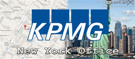 kpmg new york office contact phone number address