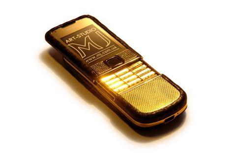 mobile phones limited exclusive nokia 8800 gold leather mj