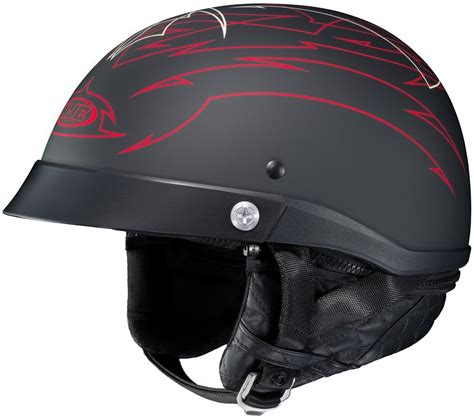 Helm Half Gix 207 Racing Visor 80 99 hjc cl ironroad showboat motorcycle half helmet 206118