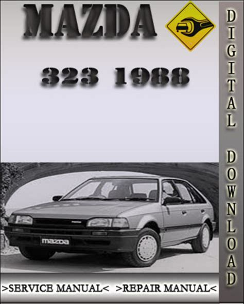 service manual auto repair manual free download 1988 mazda familia parking system haynes