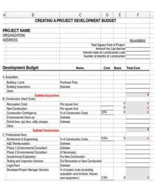 non profit budget template excel non profit budget templates 9 free word excel pdf