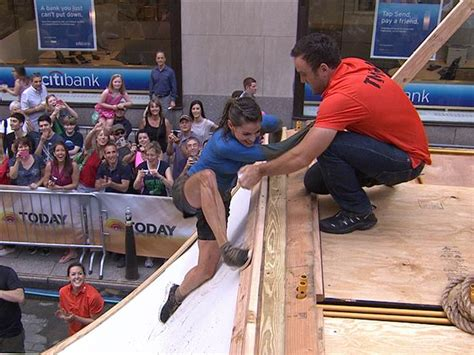 tough mudders today anchors plunge  ice water crawl